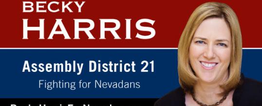 Congratulations, Becky Harris!